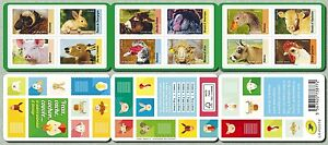 france 2017 booklet farm animals cow rabbit duke pig sheep goose donkey 12v mnh - France - Type: Miniature Sheet Quality: Mint Never Hinged/MNH Region: France Denomination: farm animal cow rabbit duke pig sheep goose donkey Topic: domestic farm animals Country/Region of Manufacture: France Year of Issue: 2011-Present - France