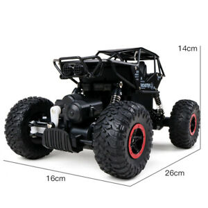 4-WD-Rock-Crawler-Monster-Buggy-Aleacion-RC-Control-Remoto-De-1-16-Off-Road-coche-RTR