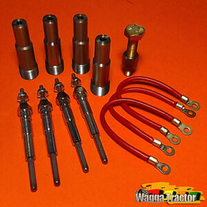 GPK4403-Glow-Plug-Kit-International-AWD6-AWD7-A554-564-Tractor-w-IH-AD264-Engine