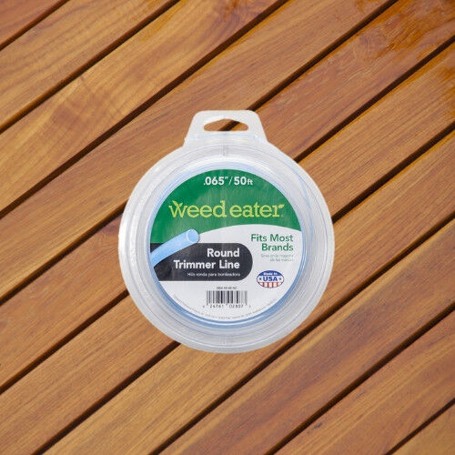 WEED EATER .065 X 50 ROUND REPLACEMENT STRING TRIMMER LINE FITS MOST BRANDS