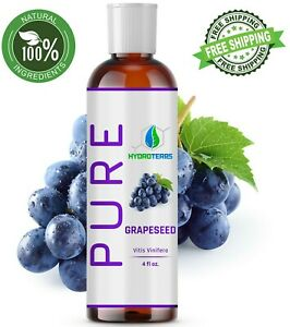 Grapeseed-Oil-4-oz-100-Pure-Natural-Carrier-Cold-Pressed-For-Skin-Hair-massage