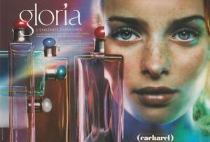 Publicité papier - advertising paper - Gloria de Cacharel 2 pages