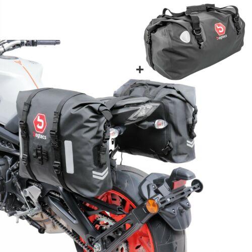 Satteltaschen Set für Kawasaki W800 Standard WR60 Hecktasche  JmNRI