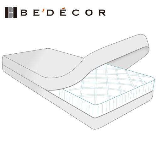 Six Sided Zippered Mattress Encasement Bed Bug Water Proof Matress Protector New