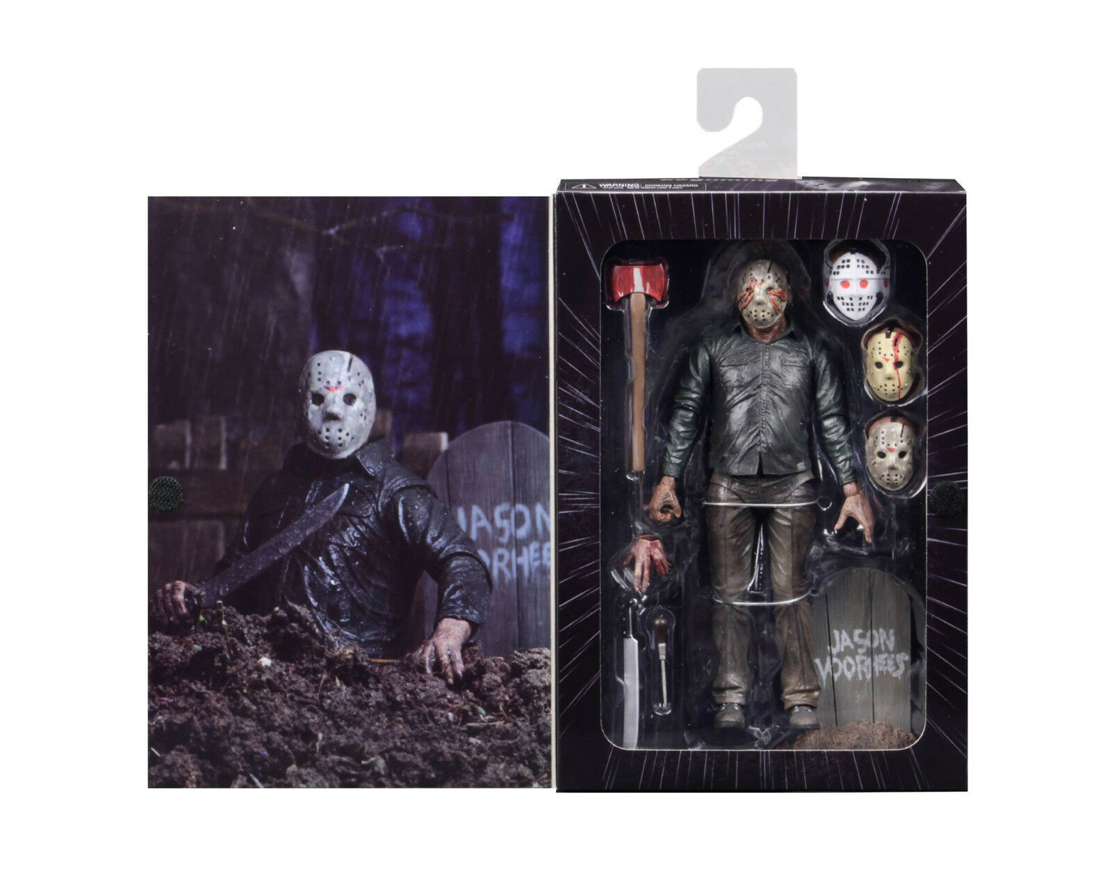 Friday the 13th Part V (5) DREAM SEQUENCE JASON 7  Ultimate Action Figure NECA