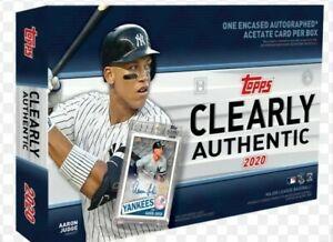 2020-Topps-Clearly-Authentic-Baseball-Random-Team-1-box-break-1