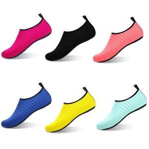 Maenner-Aqua-Socken-Wasser-Schuhe-Barfussschuhe-Schwimmen-Strandschuhe-Surf-U8E5