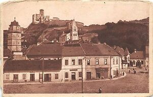 B37288-Trecin-The-view-over-the-castle-slovakia