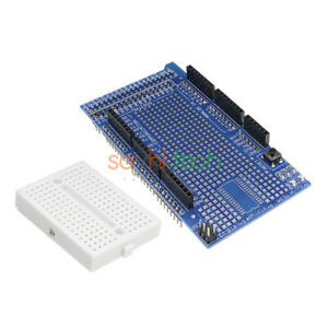 Arduino UNO R3 MEGA2560 Prototype Shield ProtoShield V3 with min breadboard 170