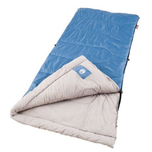Warm Dry Body Coleman Sleeping Bag Cold Weather Camping Hiking Outdoor Travel