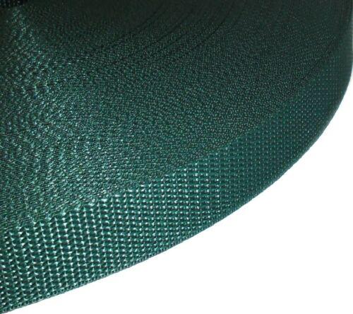25MM polypropylène armure bracelet sangle free p/&p choisir couleur /& longueur
