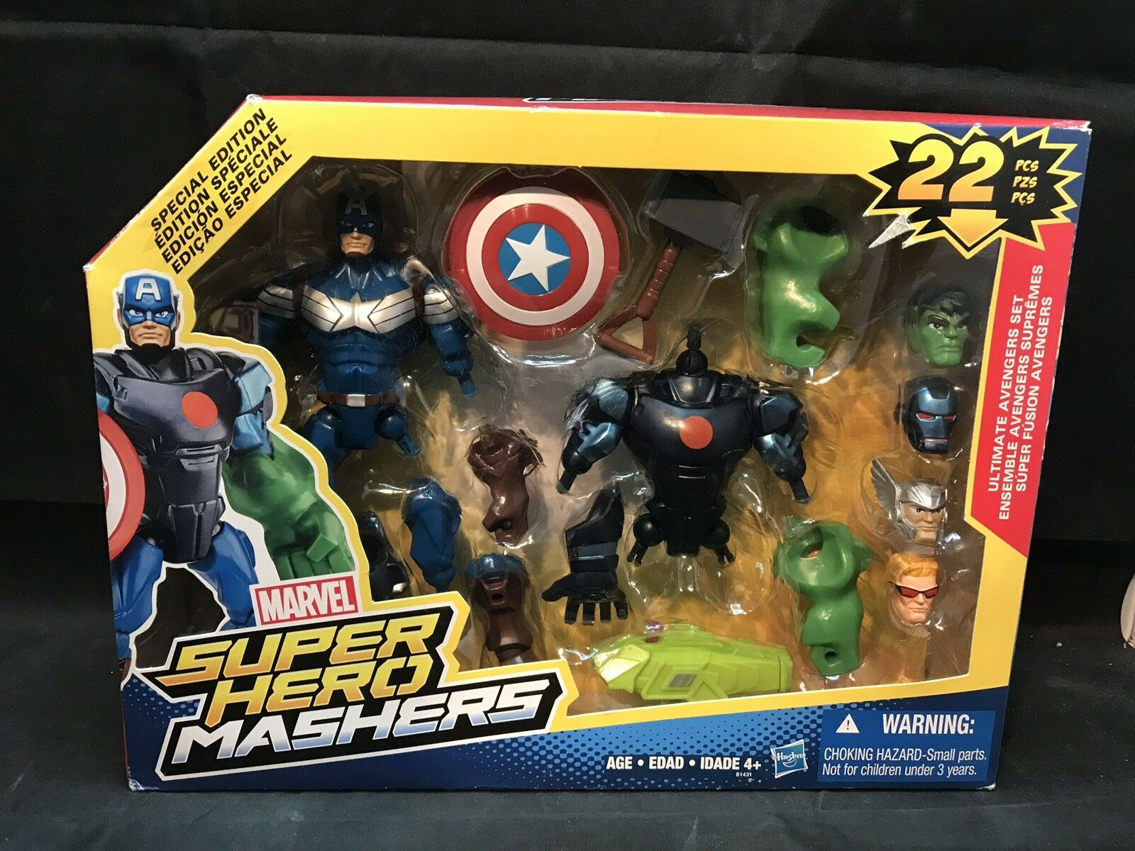 Marvel avengers superhelden - casanovas gab 's zur zeit der ultimative  set - 22 - pcs special edition