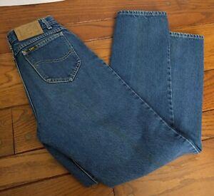 c73c0f8668 Vintage LEE Riders Denim Jeans Size 9 Union Made Patch Retro Mom ...