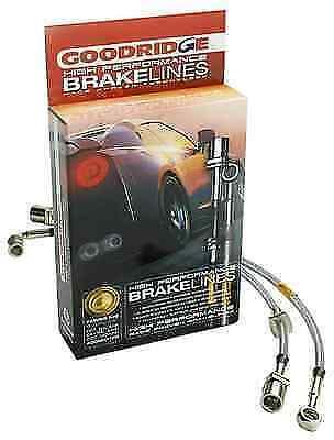 WG Rear Braided Brake Hose Kit for Toyota Supra MK4 3.0 2JZ 1993-02 Models