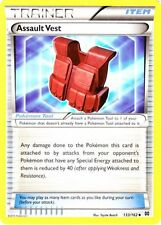 4x Pokemon XY BREAKthrough Assault Vest 133/162 Uncommon Card