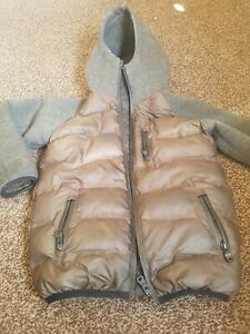 Next-Boys-Padded-Coat-Jacket-Age-5-Year-Little-bit-Used-Good-Condition