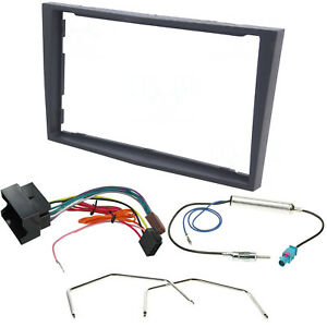 Vauxhall-Corsa-D-Astra-H-Zafira-B-Double-Din-Stereo-Radio-Fascia-Fitting-Kit