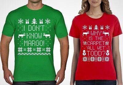 Todd and Margo Christmas TShirt Set Christmas Vacation