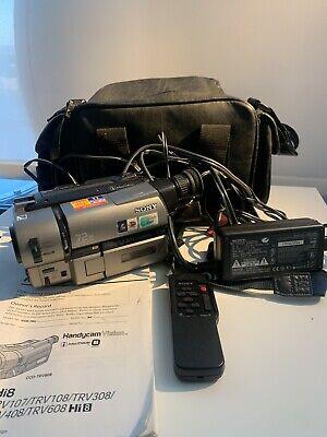 Sony Hi8 Handycam 8mm Video Transfer Camcorder CCD-TRV65 ...