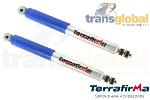 "Terrafirma TF121 +2/"" Pro Sport Rear Shock Absorbers for Land Rover Defender"