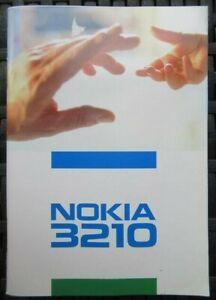 NEU: Original Nokia 3210 Bedienungsanleitung Deutsch Gebrauchsanleitung
