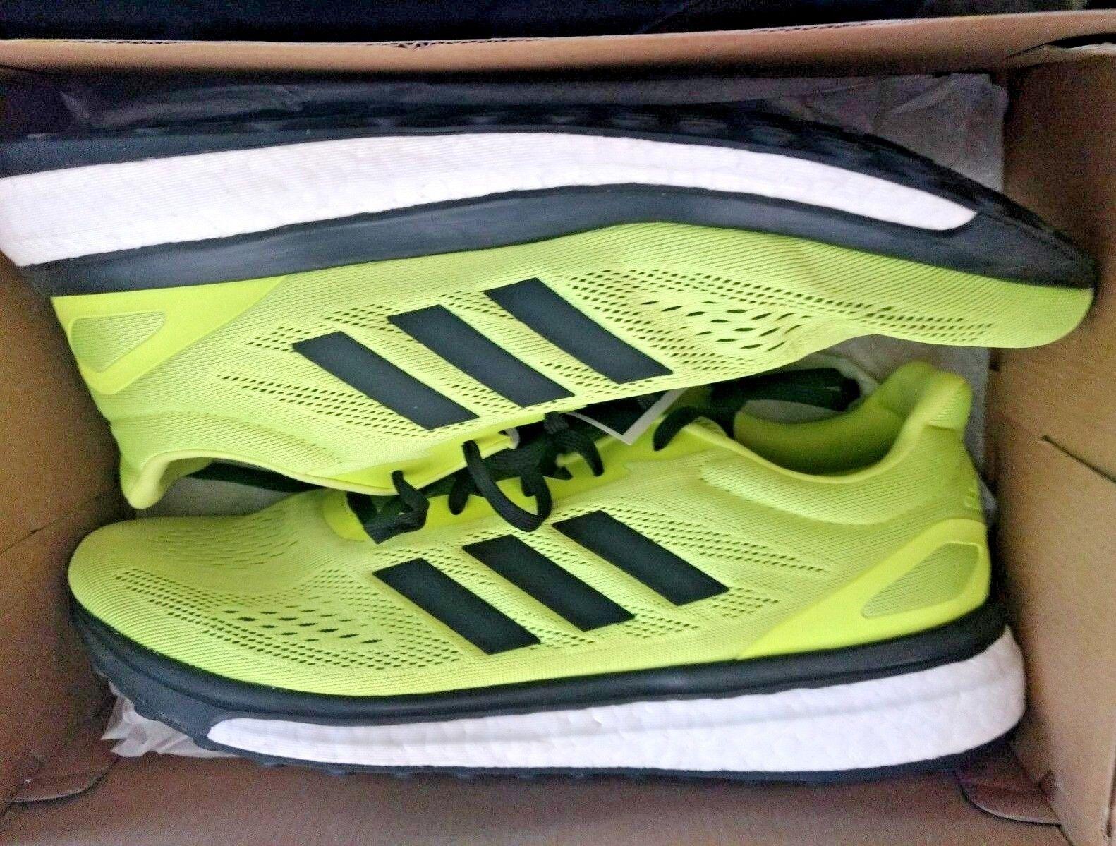 Men's Adidas Response LT Sonic Drive Running shoes Yellow Black White 11.5