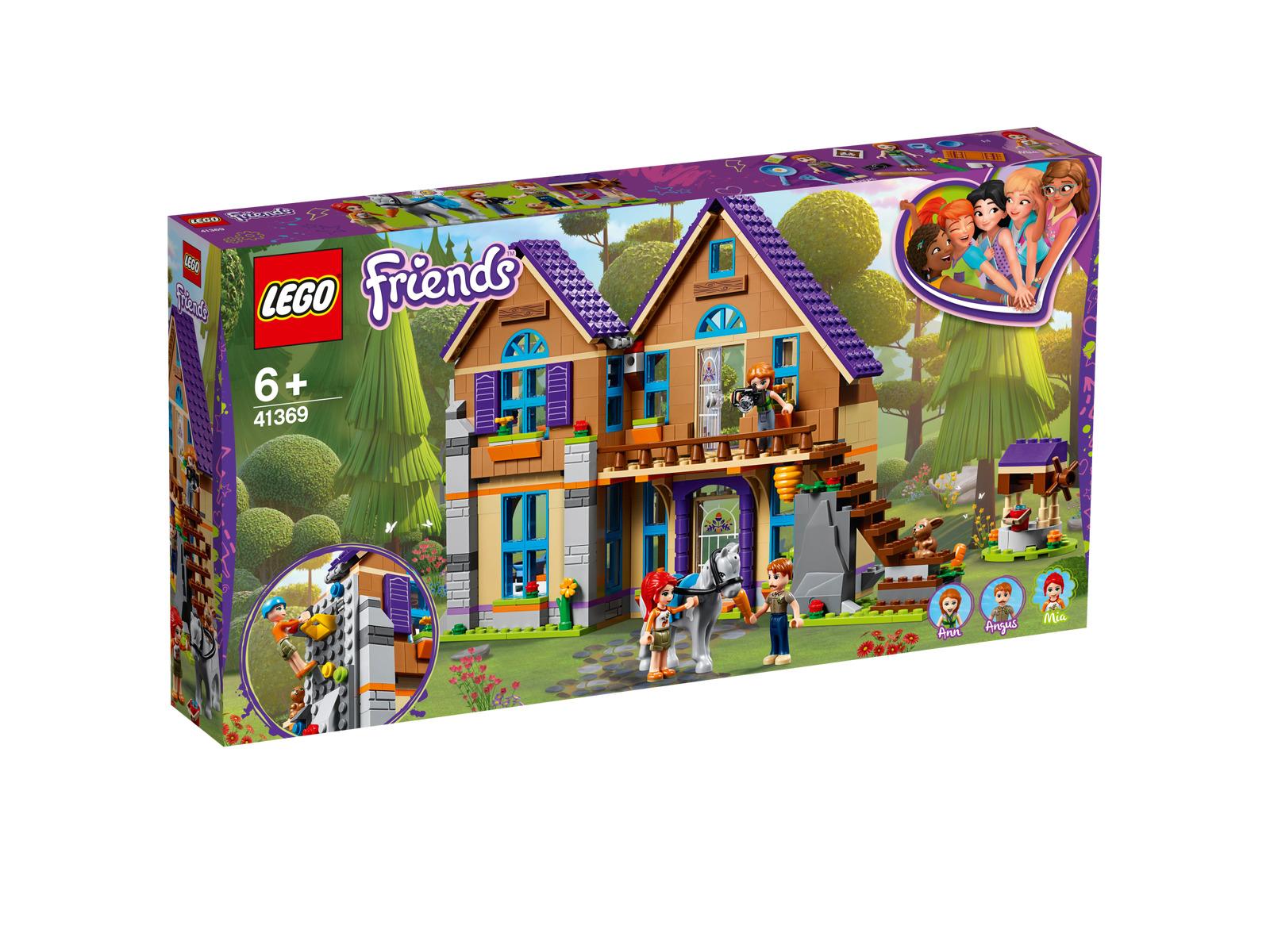 Lego Friends 41369 Mias Haus mit Pferd NEU OVP