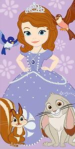 Official-Disney-Princess-Sofia-the-First-Cotton-Beach-Bath-Towel-New-Gift