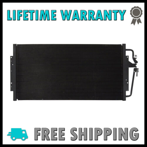 New Condenser For Chevy Venture Oldsmobile Silhoutte Montana Trans Sport 3.4 V6