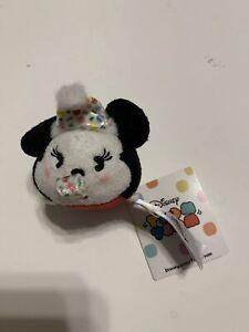 Disney-Parks-Mini-Tsum-Tsum-Minnie-Mouse-2-Plush-Mickey-Mouse-90th-Anniversary