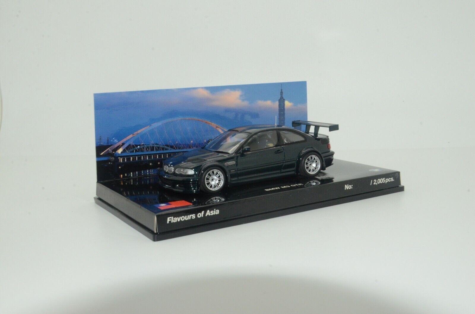 RARE   BMW M3 GTR Street Minichamps 1 43 Flavours Of Asia