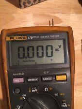 Fluke 179 True Rms Multimeter Leads Included