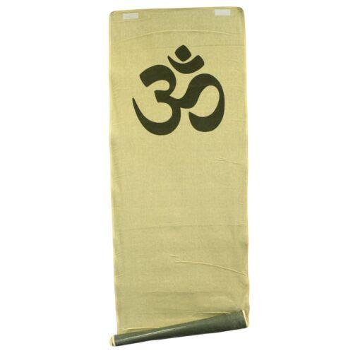 Non-Slip Ashtanga Power Om Eco Natural Jute Yoga Mat