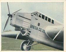 N250 Italia Aircraft Bomber Breda CC Anti-aircraft Reichswehr Germany 30' CHROMO