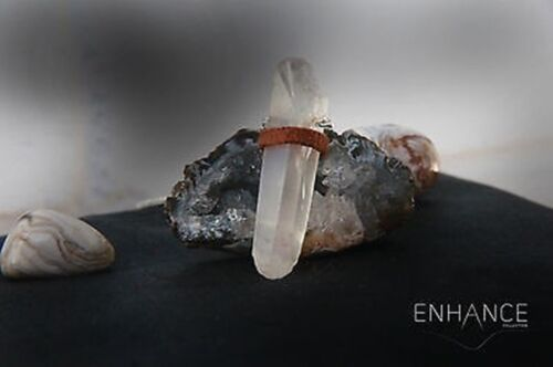 Natural Crystal Quartz Necklace