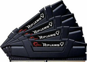 Details about G SKILL Ripjaws V Series 32GB 4x8GB DDR4 3600Mhz Memory CL16  F4-3600C17Q-32GVK