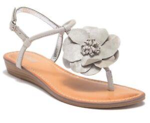 7f6b027baf Carlos by Carlos Santana Women s TEAGAN Flower SANDALS Shoes 9 M ...