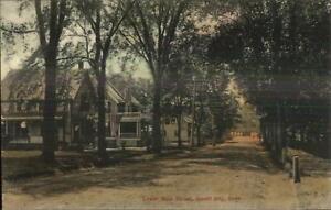 Jewett-City-CT-Homes-on-Lower-Main-St-c1910-Postcard