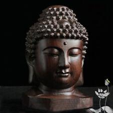 Escultura de Buda Estatua de Sakyamuni de madera Estatua de caoba de India