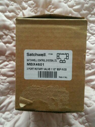 Satchwell Schneider MBX 4601 3 way  1.5 inch BSP KV20 Rotary Valve