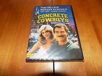 Concrete Cowboys Tom Selleck Morgan Fairchild Barbara Mandrell Dvd Sealed
