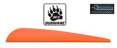 "4.0"" Neon Orange Pkg 36 ***when Accuracy Counts*** To Prevent And Cure Diseases Dv-ii Duravane Vanes"