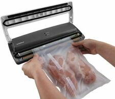 Food Saver Vacuum Sealer System Machine Starter Kit W Bags Storage Packaging New