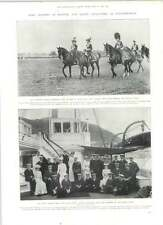 1905 King Alfonzo Soldier Queen Alexandra Yachtswoman King Oscar  Residence