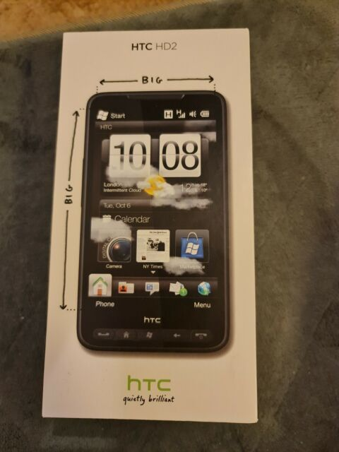 Brand New HTC HD 2 unlocked in box ships from Sweden