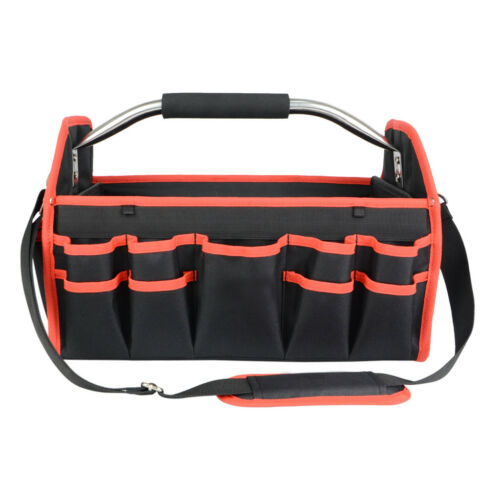 Oxford Multi-Funtional Hardware Electrician Tool Storage Bag Red