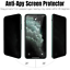 miniature 7 - Wholesale Lot For iPhone 11 XR Xs 7 Plus Privacy Tempered Glass Screen Protector