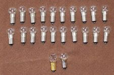 20 New C6 longshank 15V/5W replacement bulbs for Christmas Bubble Lights