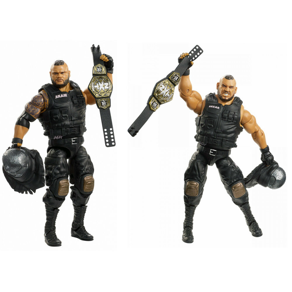 NXT WWE Elite 62 AOP Rezar & Akam Authors of Pain Wrestling Action Figure Toy
