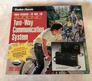 Vintage-RADIO-SHACK-Voice-Operated-Two-Way-Communication-System-TRC-508